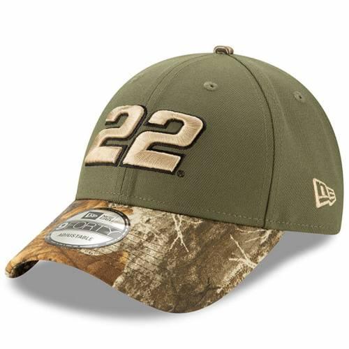 ニューエラ NEW ERA バッグ キャップ 帽子 メンズキャップ メンズ 【 Joey Logano 9forty Adjustable Driver Hat - Camo 】 Camo