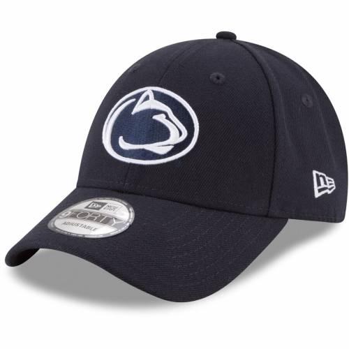 ニューエラ NEW ERA スケートボード ライオンズ 紺 ネイビー バッグ キャップ 帽子 メンズキャップ メンズ 【 Penn State Nittany Lions The League 9forty Adjustable Hat - Navy 】 Navy
