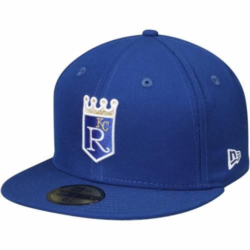 ニューエラ NEW ERA カンザス シティ ロイヤルズ クーパーズタウン コレクション バッグ キャップ 帽子 メンズキャップ メンズ 【 Kansas City Royals Cooperstown Collection Wool 59fifty Fitted Hat - Royal