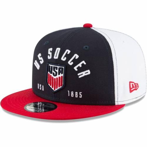 ニューエラ NEW ERA サッカー スナップバック バッグ 紺 ネイビー キャップ 帽子 メンズキャップ メンズ 【 Us Soccer Establisher 2 Snapback Adjustable Hat - Navy 】 Navy