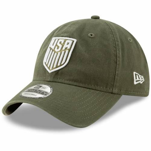 ニューエラ NEW ERA 緑 グリーン バッグ キャップ 帽子 メンズキャップ メンズ 【 Usmnt Slouch Adjustable Hat - Green 】 Green