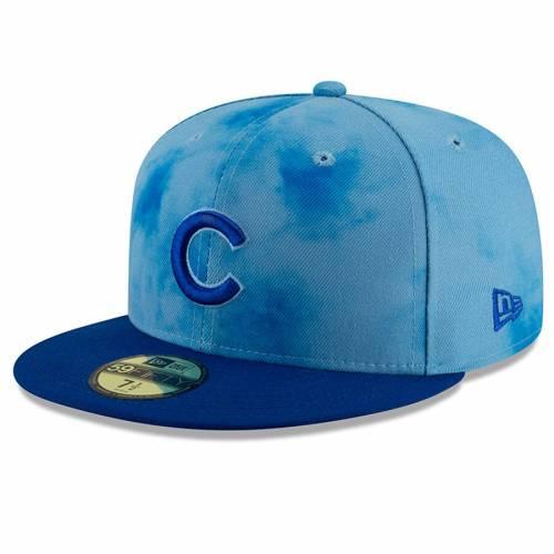 ニューエラ NEW ERA シカゴ カブス バッグ キャップ 帽子 メンズキャップ メンズ 【 Chicago Cubs 2019 Fathers Day On-field 59fifty Fitted Hat - Blue/royal 】 Blue/royal