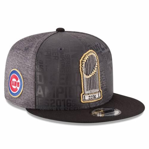 ニューエラ NEW ERA シカゴ カブス シリーズ スナップバック バッグ キャップ 帽子 メンズキャップ メンズ 【 Chicago Cubs 2016 World Series Champions Official Parade Locker Room 9fifty Snapback Adjustable Hat - G