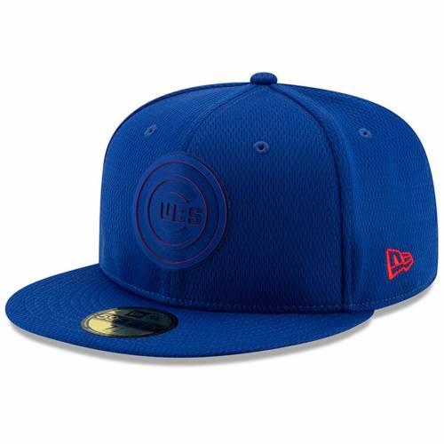 ニューエラ NEW ERA シカゴ カブス コレクション バッグ キャップ 帽子 メンズキャップ メンズ 【 Chicago Cubs 2019 Clubhouse Collection 59fifty Fitted Hat - Royal 】 Royal