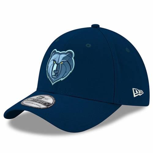 ニューエラ NEW ERA メンフィス グリズリーズ ロゴ チーム クラシック 紺 ネイビー バッグ キャップ 帽子 メンズキャップ メンズ 【 Memphis Grizzlies New Logo Team Classic 39thirty Flex Hat - Navy 】 Navy