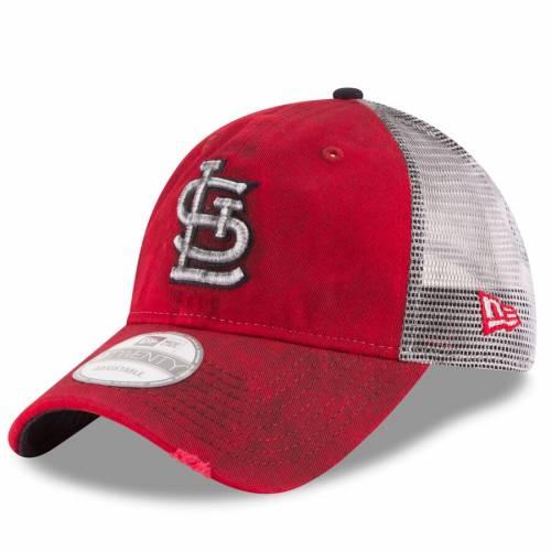 ニューエラ NEW ERA カーディナルス チーム 赤 レッド St. バッグ キャップ 帽子 メンズキャップ メンズ 【 St. Louis Cardinals Team Rustic 9twenty Adjustable Hat - Red 】 Red
