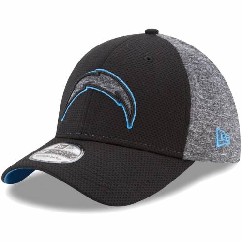 ニューエラ NEW ERA チャージャーズ 灰色 グレー グレイ バッグ キャップ 帽子 メンズキャップ メンズ 【 Los Angeles Chargers Fierce Fill 39thirty Flex Hat - Black/heathered Gray 】 Black/heathered Gray
