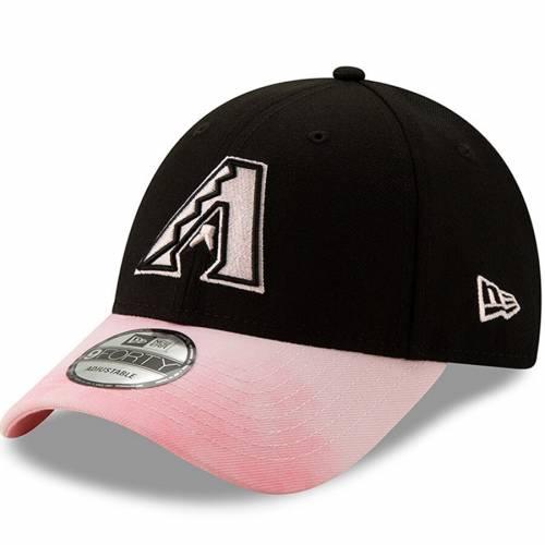 ニューエラ NEW ERA アリゾナ ダイヤモンドバックス バッグ キャップ 帽子 メンズキャップ メンズ 【 Arizona Diamondbacks 2019 Mothers Day 9forty Adjustable Hat - Black/pink 】 Black/pink