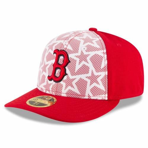 ニューエラ NEW ERA ボストン 赤 レッド バッグ キャップ 帽子 メンズキャップ メンズ 【 Boston Red Sox Stars And Stripes Low Profile 59fifty Fitted Hat - White/red 】 White/red