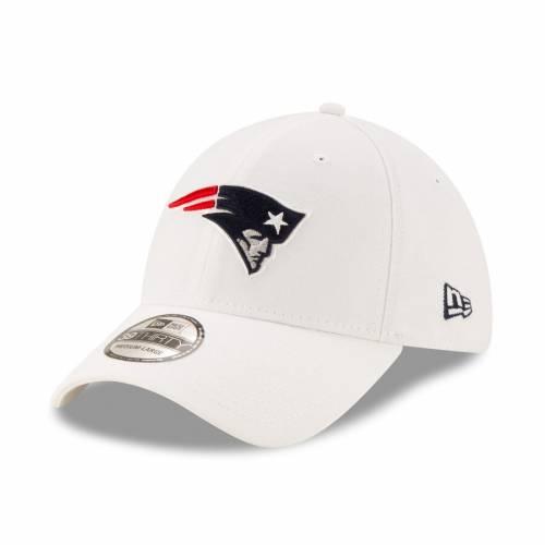 ニューエラ NEW ERA ペイトリオッツ 白 ホワイト バッグ キャップ 帽子 メンズキャップ メンズ 【 New England Patriots Iced 39thirty Flex Hat - White 】 White