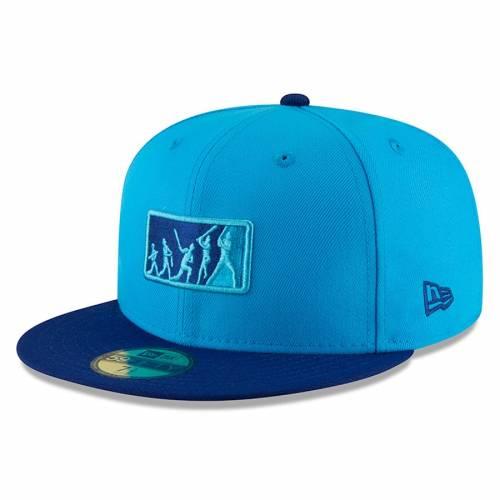 ニューエラ NEW ERA トロント 青 ブルー チーム バッグ キャップ 帽子 メンズキャップ メンズ 【 Toronto Blue Jays 2018 Players Weekend Team Umpire 59fifty Fitted Hat - Blue/blue 】 Blue/blue