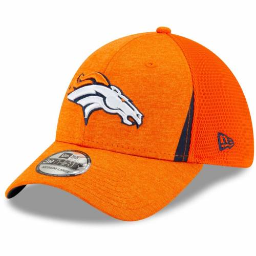 ニューエラ NEW ERA デンバー ブロンコス ネオ 橙 オレンジ バッグ キャップ 帽子 メンズキャップ メンズ 【 Denver Broncos Slice Neo 39thirty Flex Hat - Orange 】 Orange