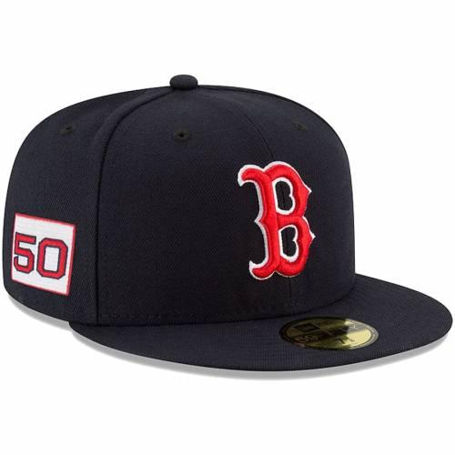 ニューエラ NEW ERA ボストン 赤 レッド 紺 ネイビー バッグ キャップ 帽子 メンズキャップ メンズ 【 Mookie Betts Boston Red Sox Player Patch 59fifty Fitted Hat - Navy 】 Navy