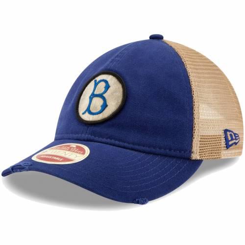 ニューエラ NEW ERA ブルックリン ドジャース クーパーズタウン コレクション トラッカー バッグ キャップ 帽子 メンズキャップ メンズ 【 Brooklyn Dodgers Cooperstown Collection Front Patched Trucker 9