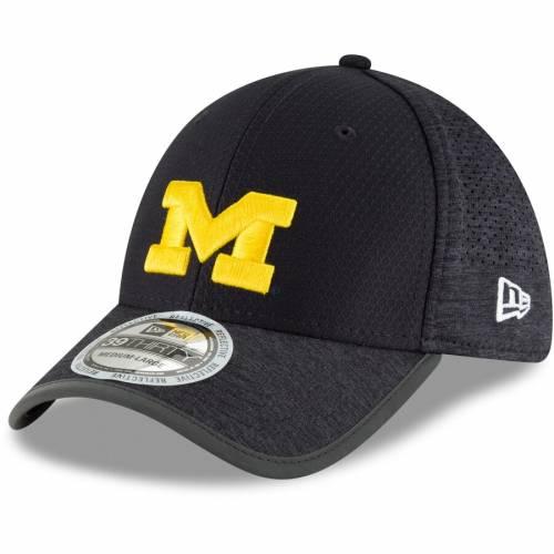 ニューエラ NEW ERA ミシガン トレーニング 紺 ネイビー バッグ キャップ 帽子 メンズキャップ メンズ 【 Michigan Wolverines Training 39thirty Flex Hat - Navy 】 Navy