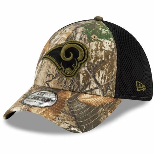 ニューエラ NEW ERA ラムズ ネオ バッグ キャップ 帽子 メンズキャップ メンズ 【 Los Angeles Rams Tonal Neo 39thirty Flex Hat - Realtree Camo 】 Realtree Camo