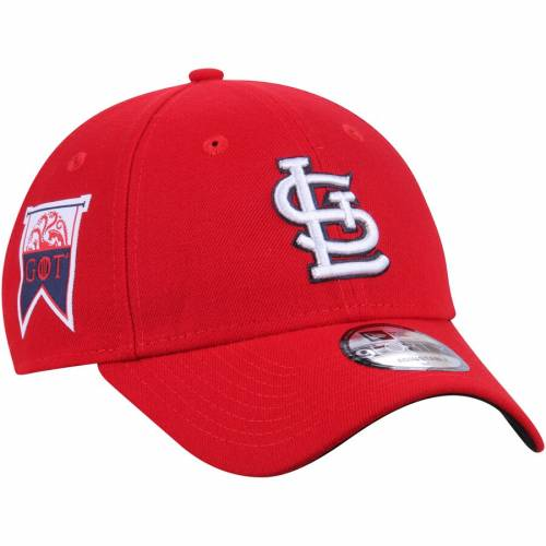 ニューエラ NEW ERA カーディナルス ゲーム 赤 レッド St. バッグ キャップ 帽子 メンズキャップ メンズ 【 St. Louis Cardinals Game Of Thrones 9forty Adjustable Hat - Red 】 Red