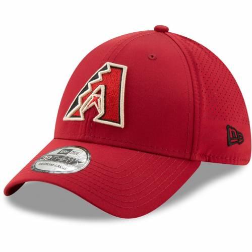 ニューエラ NEW ERA アリゾナ ダイヤモンドバックス 赤 レッド バッグ キャップ 帽子 メンズキャップ メンズ 【 Arizona Diamondbacks Perforated Play 39thirty Flex Hat - Red 】 Red