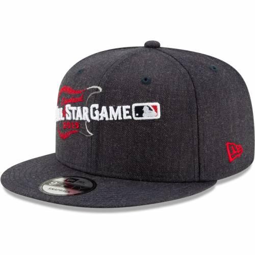 ニューエラ NEW ERA ゲーム スナップバック バッグ 黒 ブラック キャップ 帽子 メンズキャップ メンズ 【 2019 Mlb All-star Game Heathered Hype 9fifty Snapback Adjustable Hat - Black 】 Black