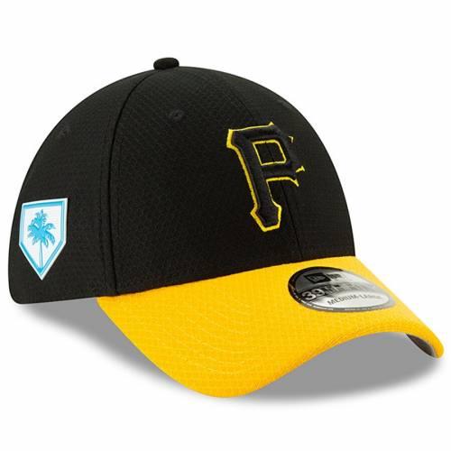 ニューエラ NEW ERA ピッツバーグ 海賊団 スプリング トレーニング バッグ キャップ 帽子 メンズキャップ メンズ 【 Pittsburgh Pirates 2019 Spring Training 39thirty Flex Hat - Black/yellow 】 Black/yellow