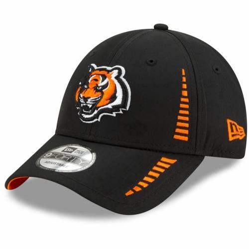 ニューエラ NEW ERA シンシナティ ベンガルズ スピード 黒 ブラック バッグ キャップ 帽子 メンズキャップ メンズ 【 Cincinnati Bengals Speed 9forty Adjustable Hat - Black 】 Black
