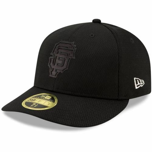 ニューエラ NEW ERA ジャイアンツ 黒 ブラック バッグ キャップ 帽子 メンズキャップ メンズ 【 San Francisco Giants 2019 Players Weekend On-field Low Profile 59fifty Fitted Hat - Black 】 Black