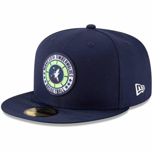ニューエラ NEW ERA ミネソタ ティンバーウルブズ シリーズ 紺 ネイビー バッグ キャップ 帽子 メンズキャップ メンズ 【 Minnesota Timberwolves 2018 Tip-off Series 59fifty Fitted Hat - Navy 】 Navy