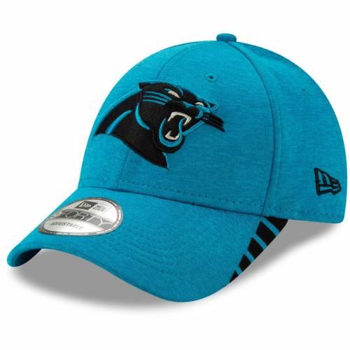 ニューエラ NEW ERA カロライナ パンサーズ 青 ブルー バッグ キャップ 帽子 メンズキャップ メンズ 【 Carolina Panthers Visor Trim 9forty Adjustable Hat - Heathered Blue 】 Heathered Blue