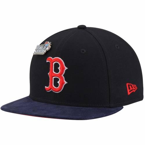 ニューエラ NEW ERA ボストン 赤 レッド コレクション スナップバック バッグ 紺 ネイビー キャップ 帽子 メンズキャップ メンズ 【 Boston Red Sox Pin Collection 9fifty Adjustable Snapback Hat - Navy 】 N
