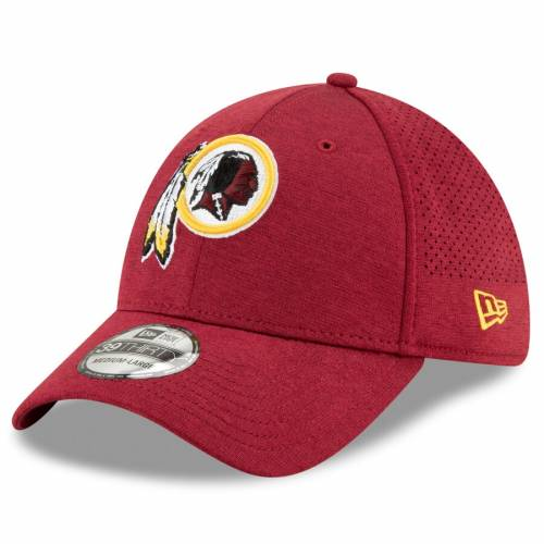 ニューエラ NEW ERA ワシントン レッドスキンズ ワイン色 バーガンディー バッグ キャップ 帽子 メンズキャップ メンズ 【 Washington Redskins Sth Perf 39thirty Flex Hat - Burgundy 】 Burgundy