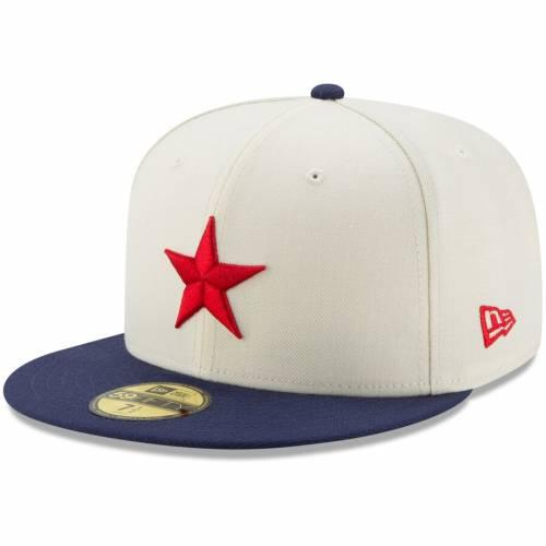 ニューエラ NEW ERA デトロイト バッグ キャップ 帽子 メンズキャップ メンズ 【 Detroit Stars Turn Back The Clock Throwback 59fifty Fitted Hat - White/navy 】 White/navy