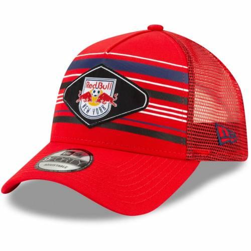 ニューエラ NEW ERA 赤 レッド ブルズ スナップバック バッグ キャップ 帽子 メンズキャップ メンズ 【 New York Red Bulls Shoreline 9forty Adjustable Snapback Hat - Red 】 Red