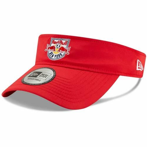 ニューエラ NEW ERA 赤 レッド ブルズ バッグ キャップ 帽子 メンズキャップ メンズ 【 New York Red Bulls Pitch Visor - Red 】 Red