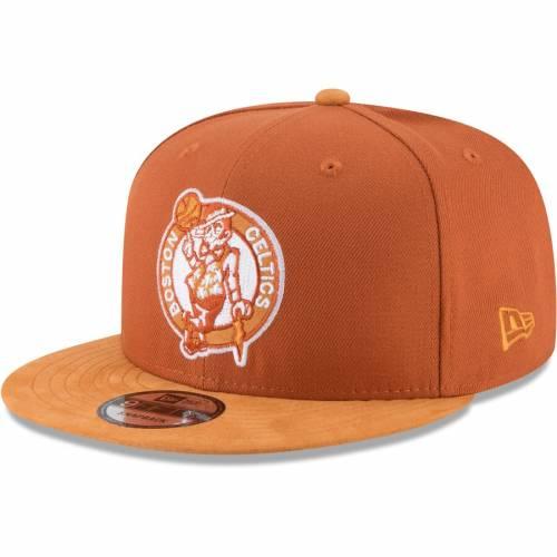 ニューエラ NEW ERA ボストン セルティックス チョイス 橙 オレンジ バッグ キャップ 帽子 メンズキャップ メンズ 【 Boston Celtics Rust Tonal Choice 9fifty Adjustable Hat - Orange 】 Orange