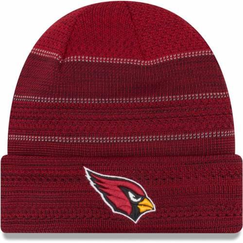 ニューエラ NEW ERA アリゾナ カーディナルス サイドライン ニット 赤 カーディナル バッグ キャップ 帽子 メンズキャップ メンズ 【 Arizona Cardinals 2017 Sideline Official Td Knit Hat - Cardinal 】 Car