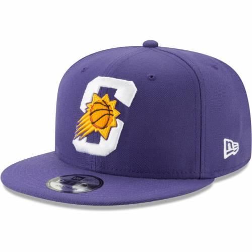 ニューエラ NEW ERA フェニックス サンズ ハーフ 紫 パープル バッグ キャップ 帽子 メンズキャップ メンズ 【 Phoenix Suns Back Half 9fifty Adjustable Hat - Purple 】 Purple