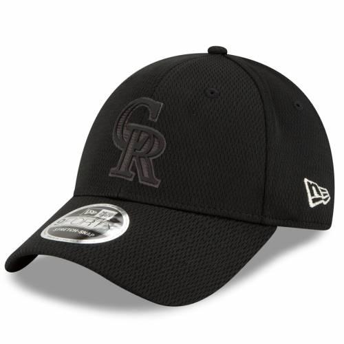 ニューエラ NEW ERA コロラド ロッキーズ 黒 ブラック バッグ キャップ 帽子 メンズキャップ メンズ 【 Colorado Rockies 2019 Players Weekend 9forty Adjustable Hat - Black 】 Black