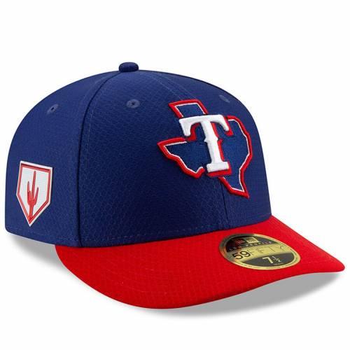 ニューエラ NEW ERA テキサス レンジャーズ スプリング トレーニング バッグ キャップ 帽子 メンズキャップ メンズ 【 Texas Rangers 2019 Spring Training Low Profile 59fifty Fitted Hat - Blue/red 】 Blue/red