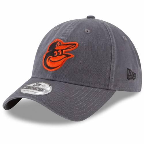 ニューエラ NEW ERA ボルティモア オリオールズ ロゴ コア クラシック バッグ キャップ 帽子 メンズキャップ メンズ 【 Baltimore Orioles Primary Logo Core Classic 9twenty Adjustable Hat - Graphite 】 Graphite