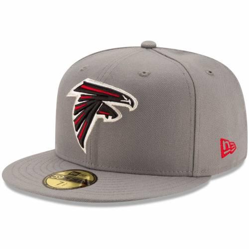 ニューエラ NEW ERA アトランタ ファルコンズ バッグ キャップ 帽子 メンズキャップ メンズ 【 Atlanta Falcons Storm 59fifty Fitted Hat - Graphite 】 Graphite