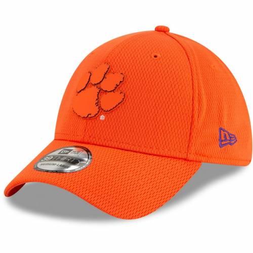 ニューエラ NEW ERA タイガース 橙 オレンジ バッグ キャップ 帽子 メンズキャップ メンズ 【 Clemson Tigers Mold 39thirty Flex Hat - Orange 】 Orange