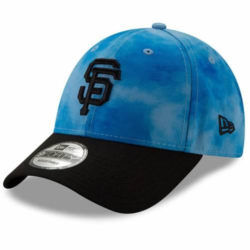 ニューエラ NEW ERA ジャイアンツ バッグ キャップ 帽子 メンズキャップ メンズ 【 San Francisco Giants 2019 Fathers Day 9forty Adjustable Hat - Blue/black 】 Blue/black