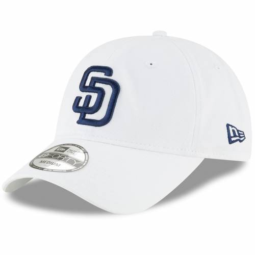 ニューエラ NEW ERA パドレス コア 白 ホワイト バッグ キャップ 帽子 メンズキャップ メンズ 【 San Diego Padres Core 49forty Fitted Hat - White 】 White