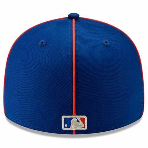 ニューエラ NEW ERA メッツ ゲーム バッグ キャップ 帽子 メンズキャップ メンズ 【 New York Mets 2019 Mlb All-star Game On-field Low Profile 59fifty Fitted Hat - Royal 】 Royal