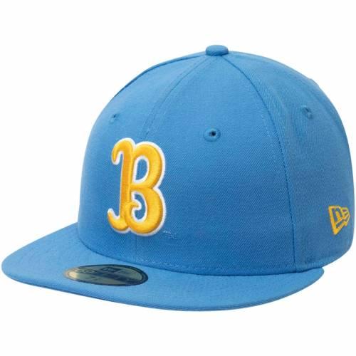 ニューエラ NEW ERA 青 ブルー バッグ キャップ 帽子 メンズキャップ メンズ 【 Ucla Bruins Ncaa Basic 59fifty Gcp Fitted Hat - Light Blue 】 Light Blue