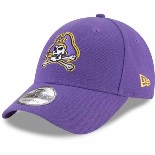 ニューエラ NEW ERA 海賊団 紫 パープル バッグ キャップ 帽子 メンズキャップ メンズ 【 Ecu Pirates The League 9forty Adjustable Hat - Purple 】 Purple