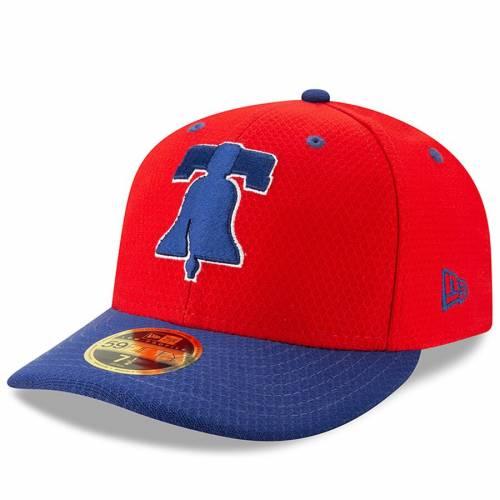 ニューエラ NEW ERA フィラデルフィア フィリーズ バッティング プラクティス バッグ キャップ 帽子 メンズキャップ メンズ 【 Philadelphia Phillies 2019 Batting Practice Low Profile 59fifty Fitted Hat - Re
