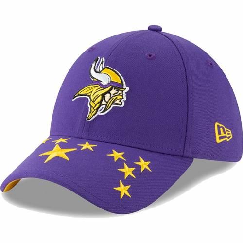 ニューエラ NEW ERA ミネソタ バイキングス 紫 パープル バッグ キャップ 帽子 メンズキャップ メンズ 【 Minnesota Vikings 2019 Nfl Draft On-stage Official 39thirty Flex Hat - Purple 】 Purple