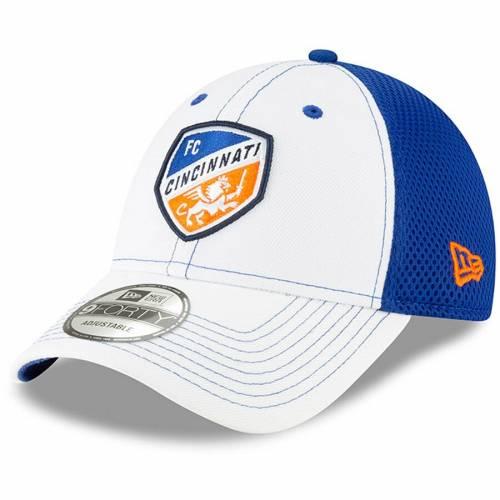 ニューエラ NEW ERA シンシナティ チーム ネオ 白 ホワイト バッグ キャップ 帽子 メンズキャップ メンズ 【 Fc Cincinnati Team Stitch Neo 9forty Adjustable Hat - White 】 White