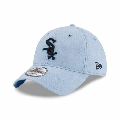 ニューエラ NEW ERA シカゴ 白 ホワイト 青 ブルー バッグ キャップ 帽子 メンズキャップ メンズ 【 Chicago White Sox 2018 Fathers Day 9twenty Adjustable Hat - Light Blue 】 Light Blue